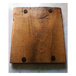Brotschneidebrett aus Eichenholz