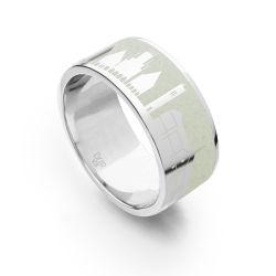 Der Münster-Ring mit Strontianit
