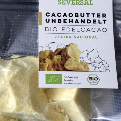 100% Bio Cacaobutter aus Ecuador