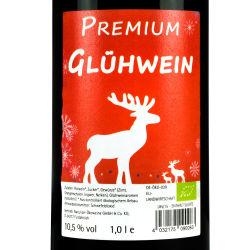 Premium Glühwein rot 1,0 l